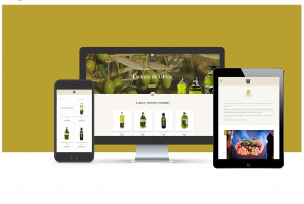 Web y tienda online esencia