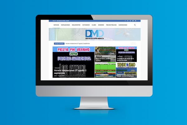 web delegación de deportes